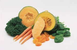 Beta-carotene fruits and vegetables